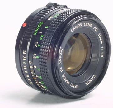 50mm f18 FD