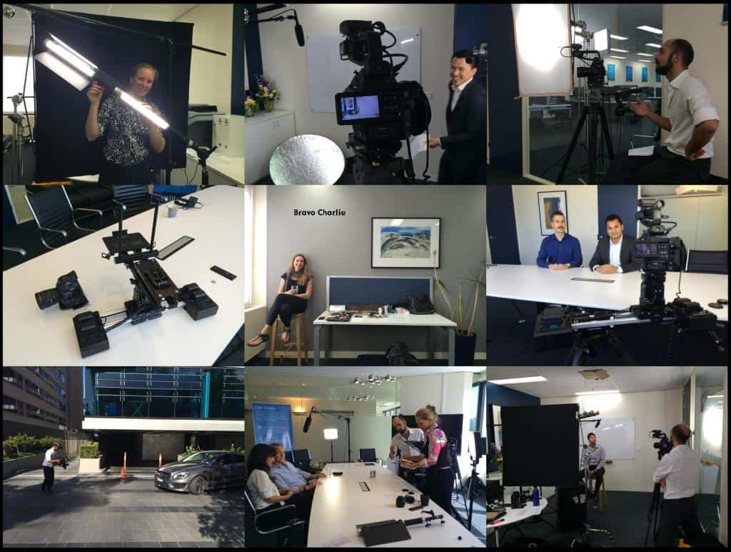 A week of filming with MEDIQ financial