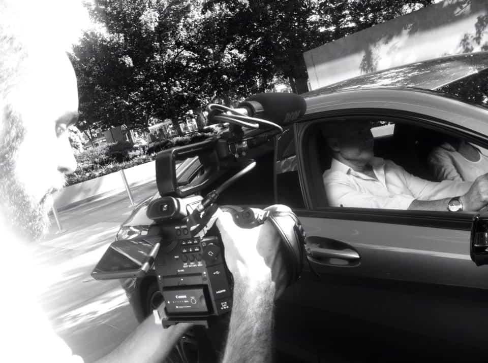 Car filming