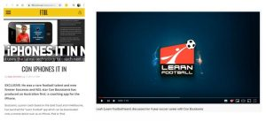 Bravo Charlie specialise in targeted video communication - Learn Football App