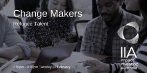 IIA Change Makers Refugee Talent